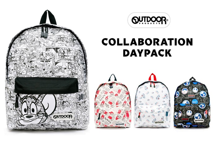 OUTDOOR PRODUCTS×キャラクターコラボ