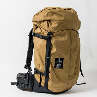 THE BACKPACK #001ブラウン